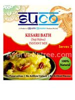 Suco Kesri bath (suji ka halwa)