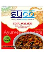 Suco Gojju Avalakki (Poha with Tamarind sauce)