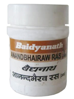 Baidyanath Anand Bhairav Ras (Jwar)