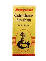 Baidyanath Kasturibhairava Ras (SMA Yu)