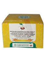 Vaidyaratnam Patoladi Kashaya Gulika Tablet